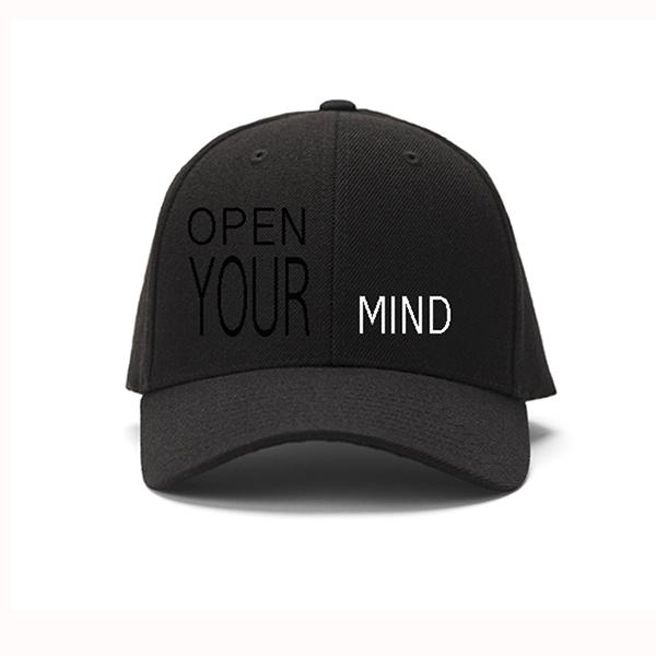 Open Your Mind Cap Black