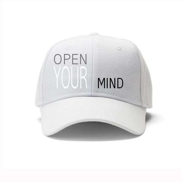 Open Your Mind Cap (white)