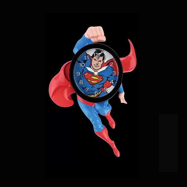 Superman Hanging Clock